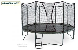 Variable Bounce 14' Trampoline with Enclosure