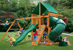 Play Nation Horizon Clubhouse w/ Tube Slide